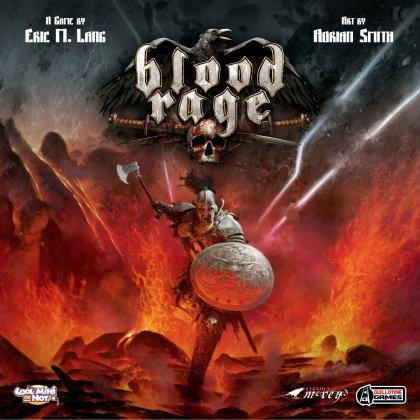 Copertina del gioco competitivo Blood Rage