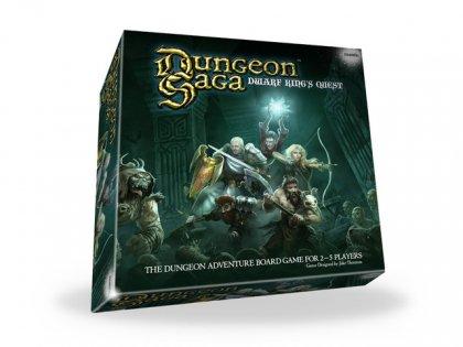 Dungeon Saga copertina