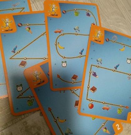 Robbi Robot: carte, fronte