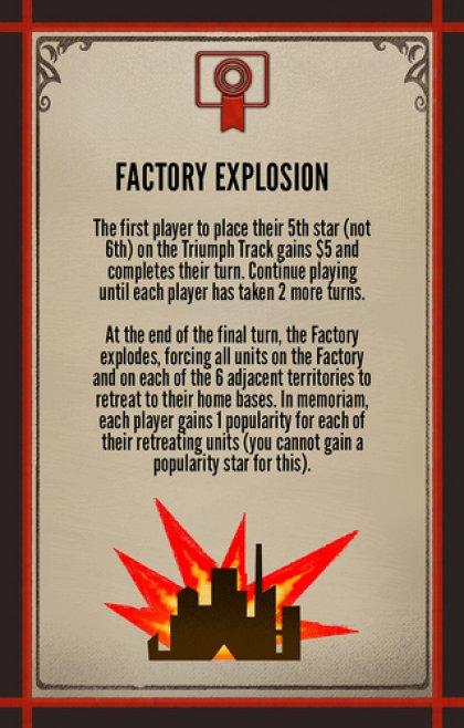 Scythe: The Wind Gambit: esplosione della Factory
