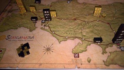 Sekigahara tabellone