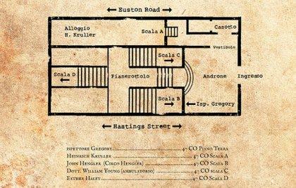 Sherlock Holmes: piantina