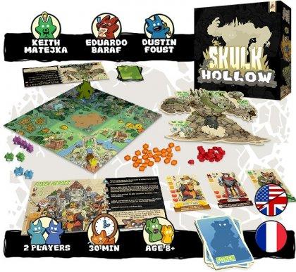 Skulk Hollow: materiali