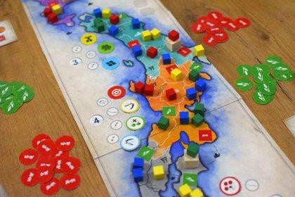 Small Samurai Empires partita in corso