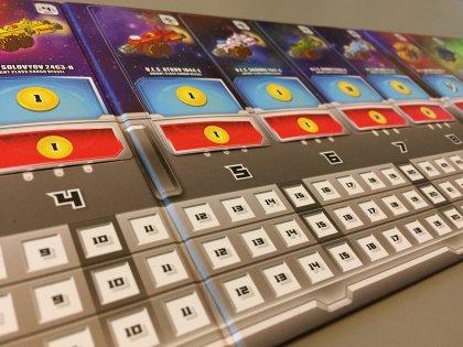 Space Base plancia giocatore