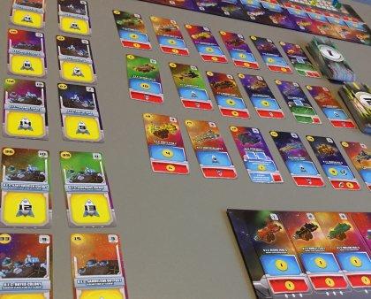 Space Base tavolo di gioco