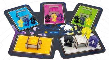Space Gate Odissey - Setup tre giocatori