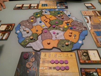 Spirit Island: partita in tre giocatori