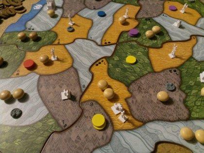 Spirit Island: tabellone