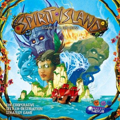 Spirit Island - Copertina