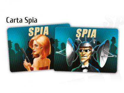 Spyfall Doppio Gioco carte spia