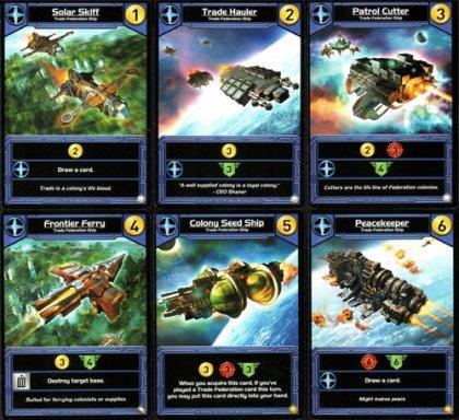 Star Realms Colony Wars carte blu