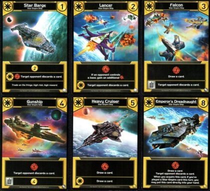 Star Realms Colony Wars carte gialle