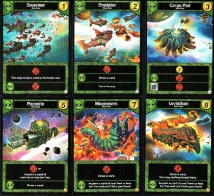 Star Realms Colony Wars carte verdi