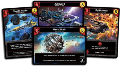 Carte rosse (machine cult) di Star Realms