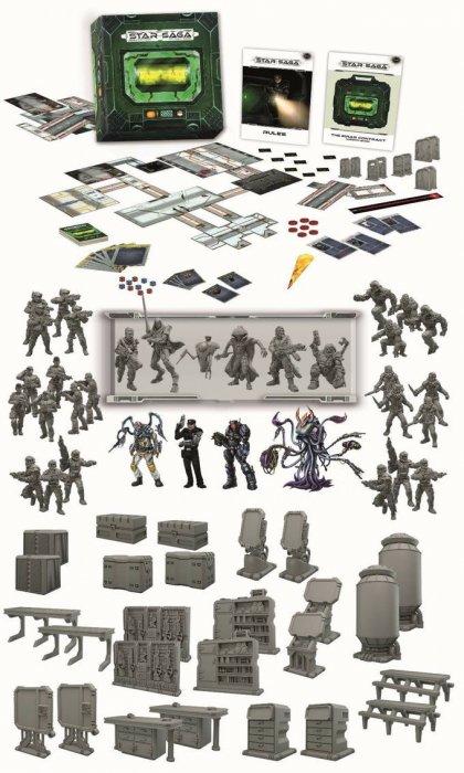 Star Saga:materiali
