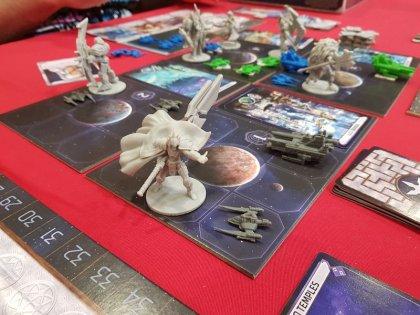 Starship Samurai: partita