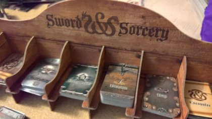 Sword & Sorcery: display