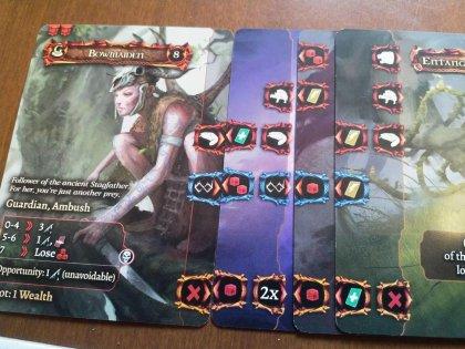 Tainted Grail: combattimento