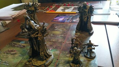 Tainted Grail: primo piano