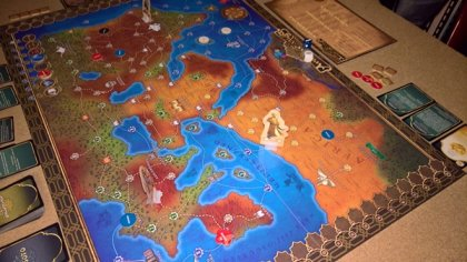 Tales of the Arabian Nights: tabellone