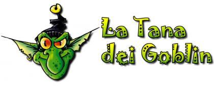 Il primo logo della Tana dei Goblin