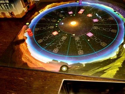 The Search for Planet X - partita in corso