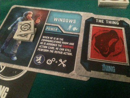 the thing: Windows