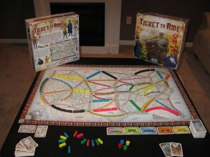 Ticket to ride - Componenti
