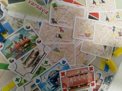 Ticket to Ride: Primo Viaggio - carte