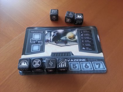 Carte pianeta di Tiny Epic Galaxies