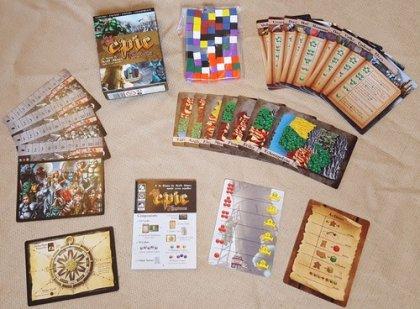 Tiny Epic Kingdoms: materiali