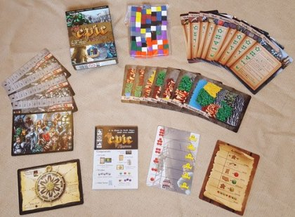 Tiny Epic Kingdoms: materiali