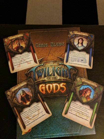 Twilight of the Gods: divinità