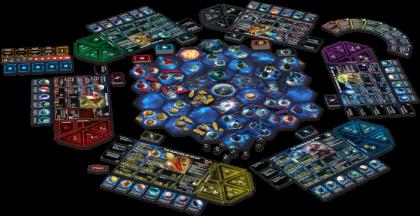Twilight Imperium IV: materiali