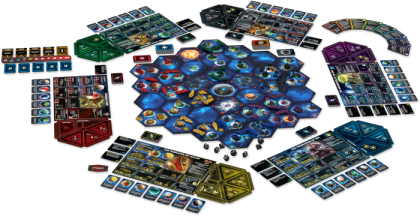 Twilight Imperium IV: materiali
