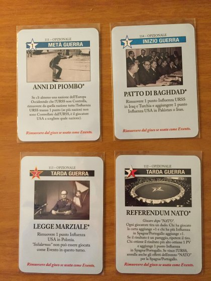 Carte promo di Twilight Struggle