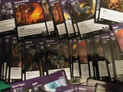 Tyrants of the Underdark: carte abomini e nonmorti