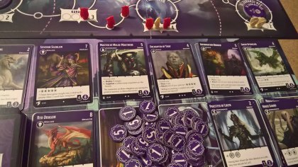 Tyrants of the Underdark: display con drow e draghi