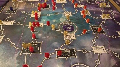 Tyrants of the Underdark: tabellone