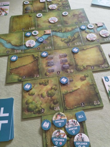 Undaunted: Normandy - partita