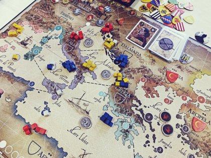 Plancia di gioco di Venetia (Giochi Uniti)