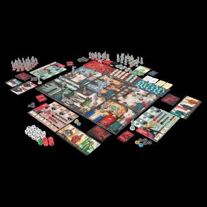 Vengeance: materiali di gioco