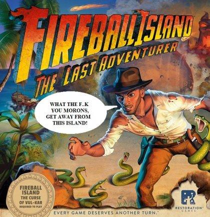 Fireball Island: The Curse of Vul-Kar - espansione