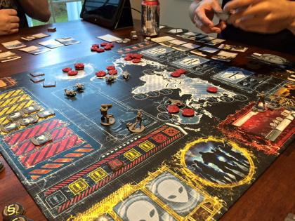 Plancia di gioco di XCOM: The Boardgame