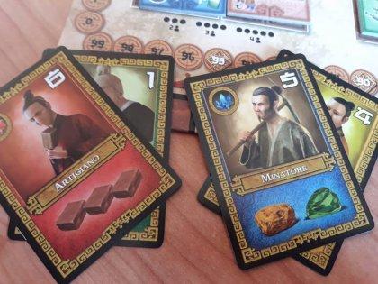 Esempio di coppie di carte
