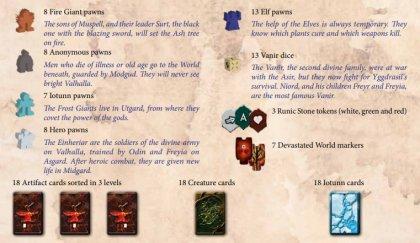 Yggdrasil Chronicles componenti