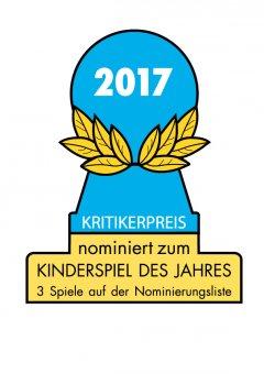 Nomination Kinderspiel Des Jahres 2017