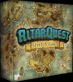 Altar Quest: scatola degli stretch goals