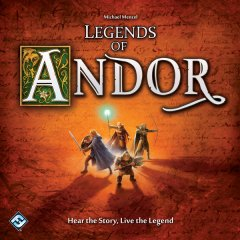 Leggende di Andor copertina